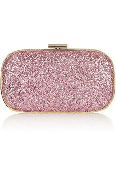 Pink Glitter Clutch I Can Only Imagine All The Amazing Outfits Could Make