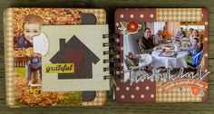 My Creative Scrapbook November Album kit designed by Kristin Greenwood.