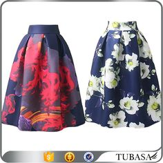 Check out this product on Alibaba.com APP New fashion wholesale floral printed european style skirts