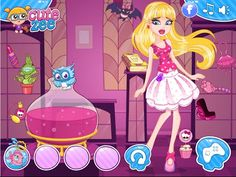 There are many kinds of Monster High games such as dressup makeup