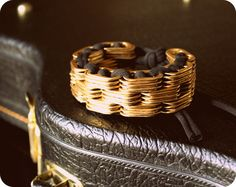 Chainstar Gold guiltless cuff by chaincouture on Etsy