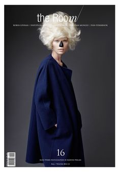 Aline Weber @ The Room, photographed by Marton Perlaki and styled by Ali Toth and Aniko Virag