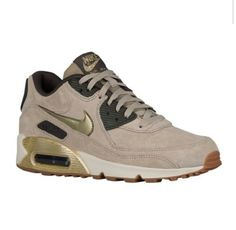 Men's Nike Air Max 90 Leather Running Shoes Finish Line Summer