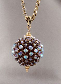 Crystals challenge: Aurelio Castano posted by BeadStyle - Bead Style Magazine