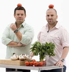 MasterChef's Gary Mehigan and George Calombaris was named 'Chef of the Year 2008'. Calombaris draws on his Greek and Greek Cypriot heritage for inspiration.[2]