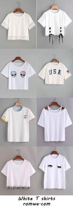 white top t shirt korean style fashion cute kawaii fashion Daily fashion Korean fashion style pink fashion Girls Fashion Clothes, Teen Fashion Outfits, Outfits For Teens, Diy Fashion, Trendy Outfits, Korean Fashion, Summer Outfits, Girl Outfits, Fashion Looks