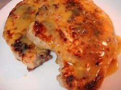 Weight Watchers honey dijon pork chops. OMG, so good!