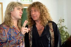 joe elliott wife def leppard | Def Leppard photo - Joe Elliott (Def Leppard) a Robert Plant (Led ...