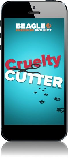 """Cruelty Cutter app With this app ($2.99), you can scan a barcode and find out whether the product is """"cruelty-free."""" You can also post comments on companies' social media sites to encourage them to make more compassionate choices, get rewarded for taking positive action, and connect with a community of people passionate about a cruelty-free world. Supports iOS."""