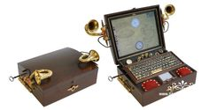 Steampunk Laptop how to
