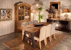Salones mueble industrial y tapicería http://www.artesaniadecoracion.com/tienda/MUEBLE-INDUSTRIAL.html