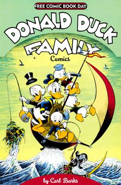 Donald Duck Family cover by Carl Barks