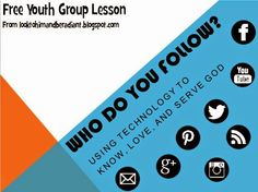 Youth group lesson on technology and discipleship Youth Ministry Lessons, Youth Bible Lessons, Youth Group Lessons, Youth Group Activities, Bible Study For Kids, Ministry Ideas, Youth Games, Youth Groups, Women's Ministry