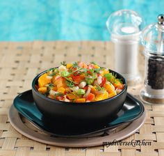 My Diverse Kitchen: A Touch of Mango Madness (contd.): Mango Salsa