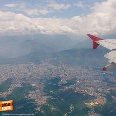 Ver a mi hermosa Bucaramanga desde el aire, me hace darme cuenta lo mucho que la amo. Gracias @JuanPuyana por la foto #bucaramangabonita