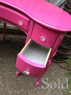 Custom work samples vanity desk dresser furniture by girlUPcycled, $500.00