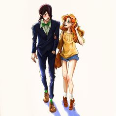 Lily Evans And Severus Snape By Airefee On DeviantART ...