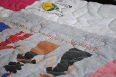 almost casual: T-Shirt Quilts