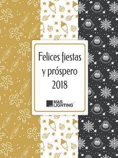 ¡Maslighting os desea unas felices fiestas y próspero año nuevo 2018! Además, salvo los días festivos 25 de diciembre y días 1 y 6 de enero, estaremos a vuestra disposición en nuestro horario habitual: Lunes a viernes de 9:00-13:30h y 16:00-20:00 Sábados de 9:30-13:30