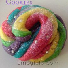 How to Make Unicorn Poop Cookies