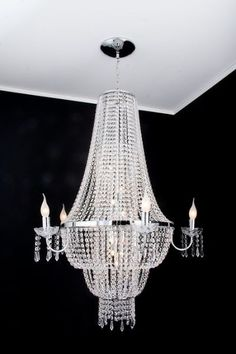Lustre Cristal Orion-Médio, da Metais Bianca. Design Moderno - e-lustres R$4.883