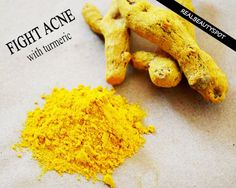 tumeric for acne and bright skin