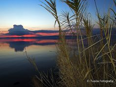 Tramonto sul Lago.   © Tuscia Fotografia