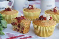 Muffin de Amêndoas com Morango sem glúten | Receitas e Temperos