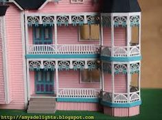 Image result for miniature dollhouse mansions