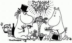Moominmama and Moominpappa