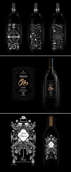 Diseño de Botellas   Bodegas Perica