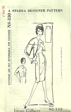 old school patterns ...   http://www.etsy.com/listing/89316571/vintage-spadea-sewing-pattern-by-irene?ref=af_new_item