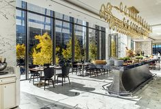 The Best Hospitality Design Firms in New York Commercial Design, Commercial Interiors, Hotel Concept, Café Bar, Lounge Design, Restaurant Interior Design, Four Seasons Hotel, Hospitality Design, Home Design Plans