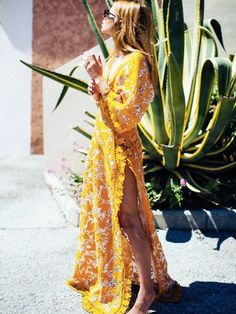 How to Dress for a Beach Wedding and Not Look Inappropriate via @WhoWhatWearUK