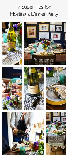 Hosting a dinner party? We have 7 super tips for a stress free affair.