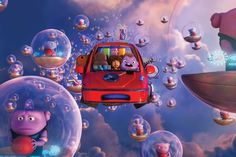 Tip & Oh in her Boov powered flying car! DreamWorks Home 2015 Movies, Home Movies, Kid Movies, Cartoon Movies, Disney Movies, Disney Pixar, Movies Free, Dreamworks Home, Dreamworks Animation