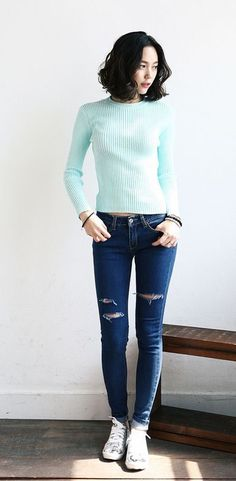 Korean fashion, simple