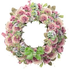 Яндекс.Фотки ❤ liked on Polyvore featuring flowers and wreaths