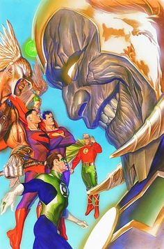 ArtVerso DC COMICS - By Alex Ross