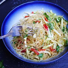 """Savory Noodles with Thai-Style """"Peanut"""" Sauce"""