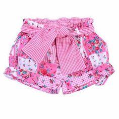 Resultado de imagem para pantalones cortos de niñas