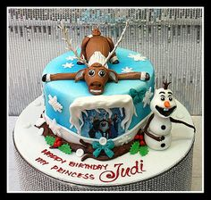 """Cake """"Frozen"""" from The House of Cakes Dubai"""