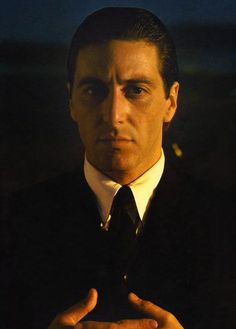 I loved him in this movie!!!!  Al Pacino in 'The Godfather'