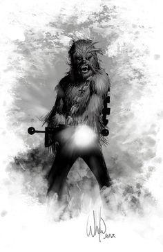 Chewbacca by While Portacio