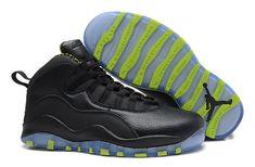 separation shoes 02a0a 9c513 Discover the New Air Jordan 10 Retro Black-Grey Venom Green Discount  collection at Footseek. Shop New Air Jordan 10 Retro Black-Grey Venom Green  Discount ...