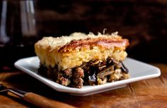 Shortcut Moussaka Recipe - NYT Cooking Rec by Lila Greek Recipes, Quick Recipes, Yummy Recipes, Recipies, Moussaka Recipe, Melissa Clark, Ground Lamb, Eggplant Recipes, Eggplant Dishes