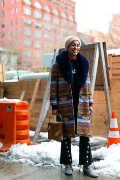 BG STREET STYLE/The Best Street Style from New York Fashion Week - HarpersBAZAAR.com