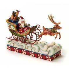 Heartwood Creek Santa Figurines by Jim Shore