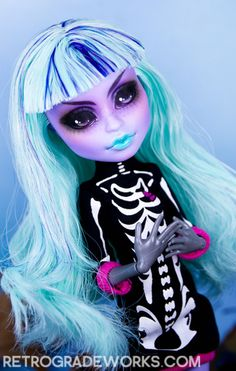 Commission: Monster High Twyla for Prudence | Flickr - Photo Sharing!