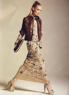 VanityFair, Italy - Dress LAURALIE #azzaro